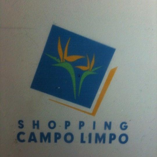 Das Foto wurde bei Shopping Campo Limpo von Fabio C. am 6/14/2012 aufgenommen