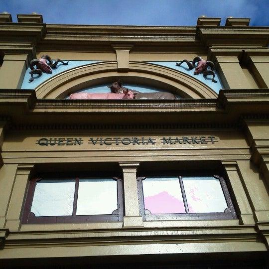 Foto diambil di Queen Victoria Market oleh ISHR pada 9/6/2012