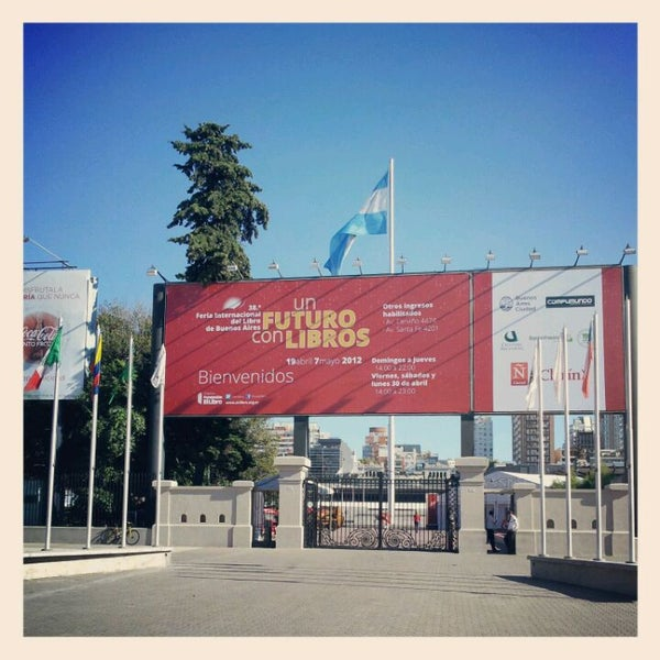4/19/2012 tarihinde Daniel H.ziyaretçi tarafından La Rural - Predio Ferial de Buenos Aires'de çekilen fotoğraf