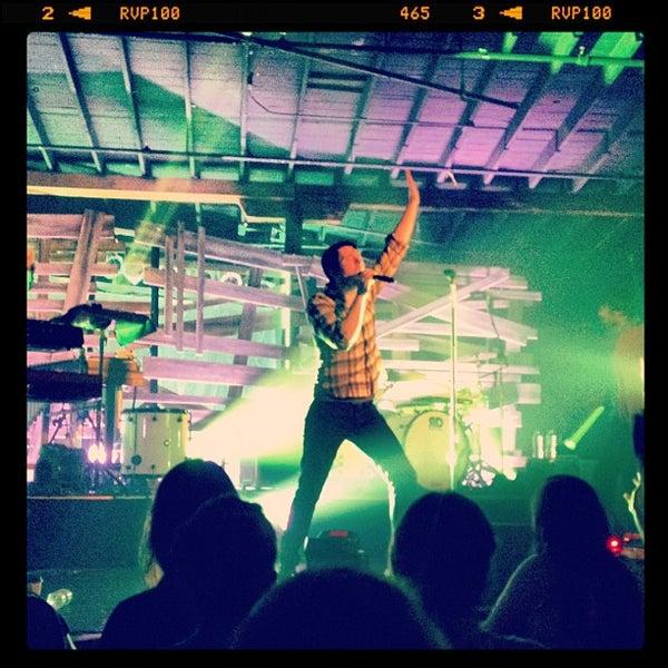 Снимок сделан в The Cannery Ballroom пользователем Ross C. 9/6/2012