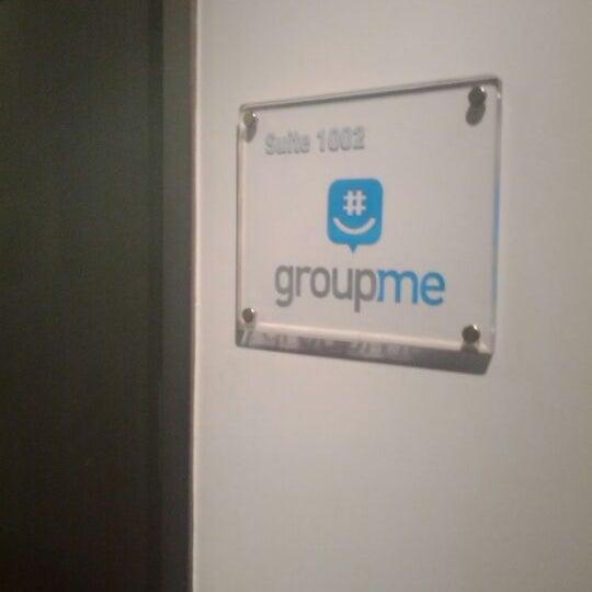 Photo prise au GroupMe HQ par Cesar R. le1/18/2012