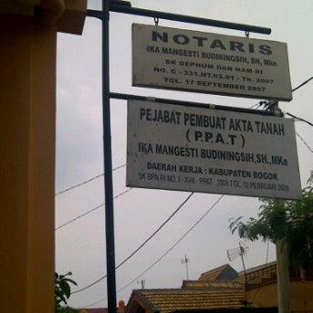 Notaris Ppat Ika Mangesti Budiningsih Sh Mkn Bogor Jawa Barat