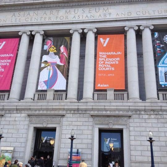 11/6/2011 tarihinde Brian C.ziyaretçi tarafından Asian Art Museum'de çekilen fotoğraf