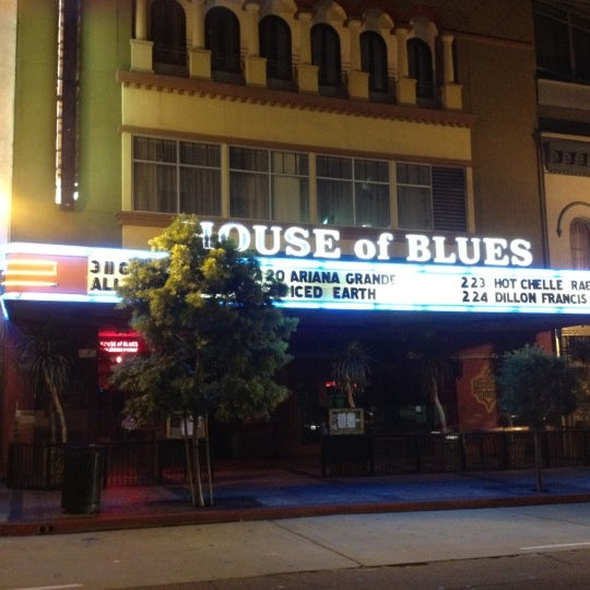 Foto tirada no(a) House of Blues San Diego por Joe C. em 2/20/2012