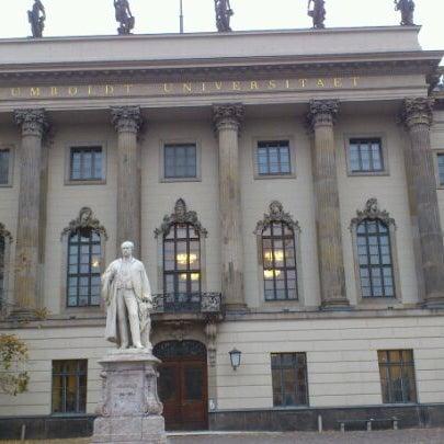 11/10/2011에 Winna W.님이 Humboldt-Universität zu Berlin에서 찍은 사진