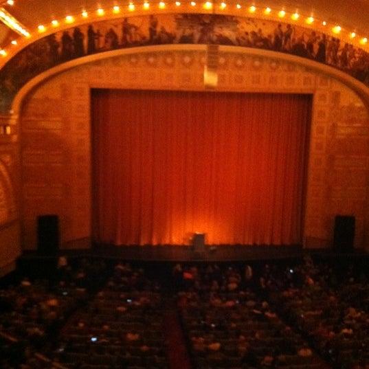 11/13/2011 tarihinde Peter D.ziyaretçi tarafından Auditorium Theatre'de çekilen fotoğraf
