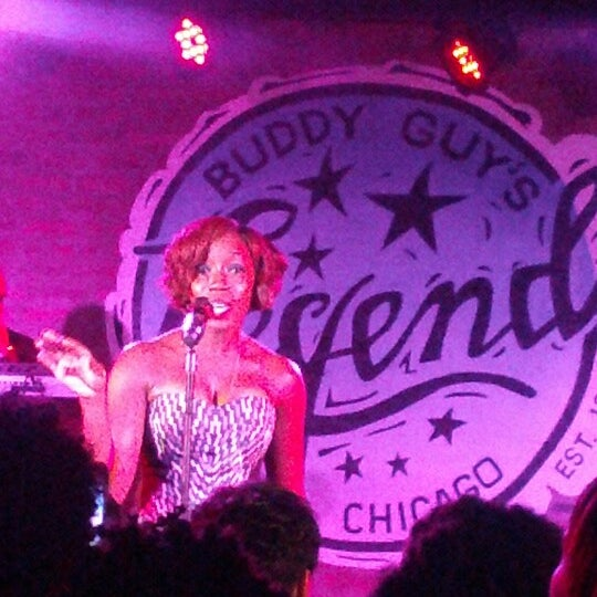 Foto tirada no(a) Buddy Guy's Legends por Bettina S. em 8/10/2012