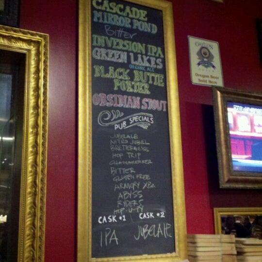 12/11/2011 tarihinde Nate R.ziyaretçi tarafından Deschutes Brewery Portland Public House'de çekilen fotoğraf