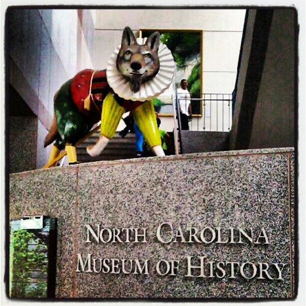 รูปภาพถ่ายที่ North Carolina Museum of History โดย Richard C. เมื่อ 6/5/2012