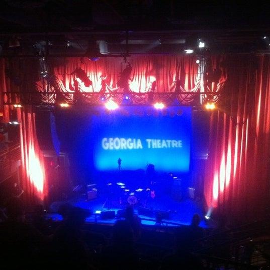 Das Foto wurde bei Georgia Theatre von chad s. am 8/2/2011 aufgenommen