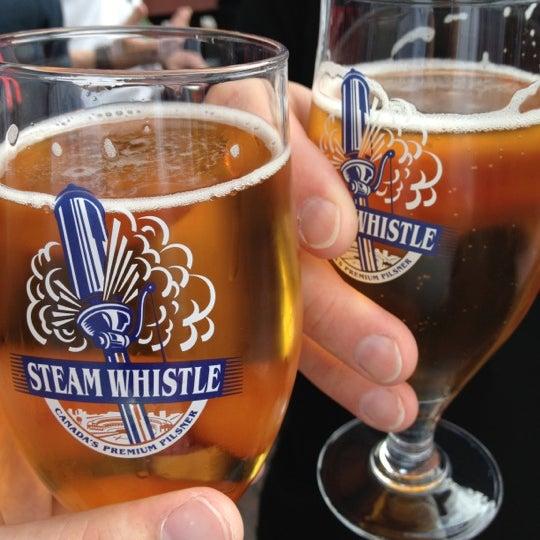7/8/2012 tarihinde Nico L.ziyaretçi tarafından Steam Whistle Brewing'de çekilen fotoğraf