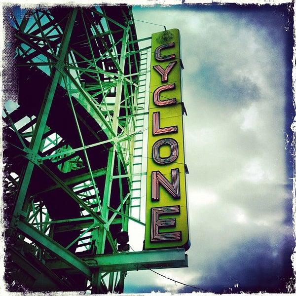 Foto tomada en The Cyclone por David B. el 5/27/2012