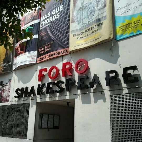 รูปภาพถ่ายที่ Foro Shakespeare โดย José G. เมื่อ 9/17/2011