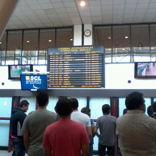 Photo prise au Aeropuerto Internacional Comodoro Arturo Merino Benítez (SCL) par Matías Eduardo E. le12/10/2011