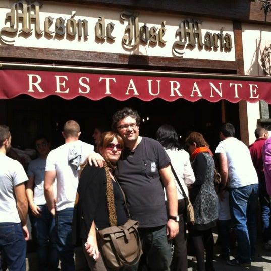 3/31/2012에 Belen R.님이 Restaurante José María에서 찍은 사진