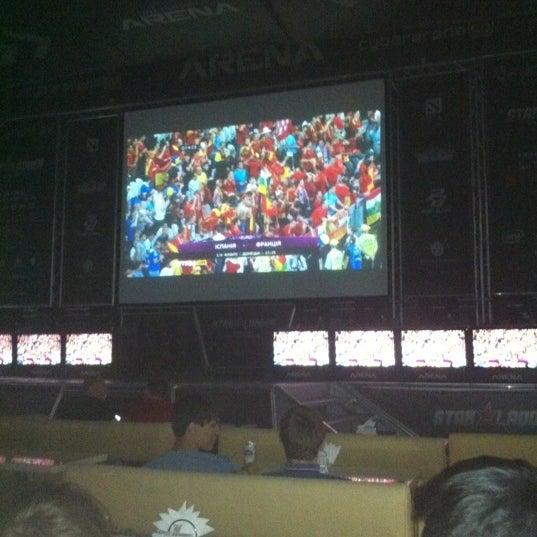 6/23/2012 tarihinde Alexandr P.ziyaretçi tarafından Киберcпорт Арена'de çekilen fotoğraf