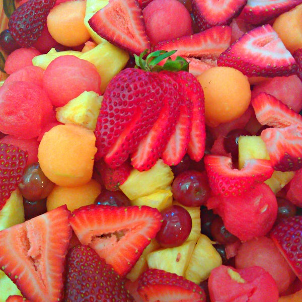 Try the fruit salad in the summer.