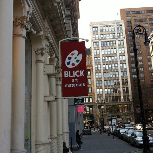 Dick blick nyc