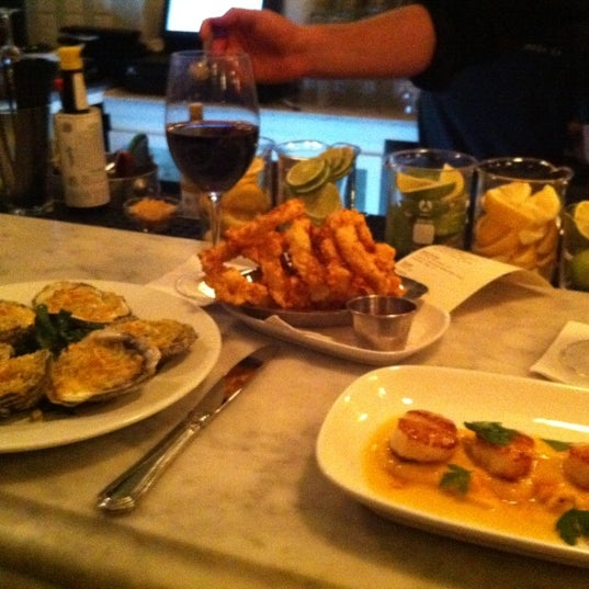 Get the oysters and scallops!!!!