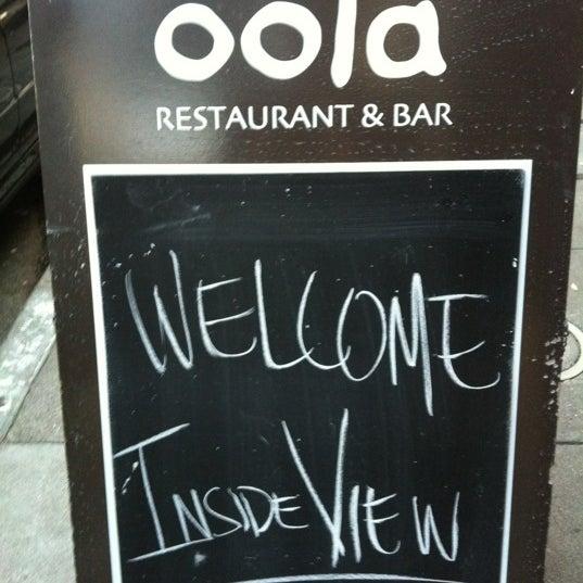 รูปภาพถ่ายที่ Oola Restaurant & Bar โดย 👑 Koka S. เมื่อ 3/13/2012