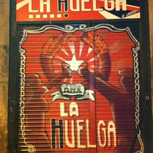 1/10/2012にHector P.がLA HUELGA en Lavapiésで撮った写真