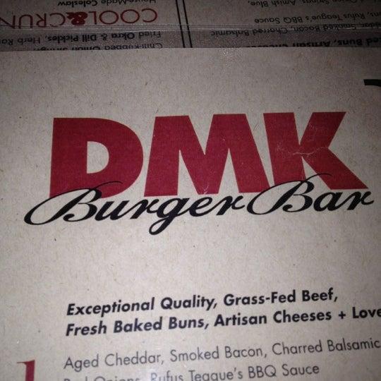 Foto tirada no(a) DMK Burger Bar por Thurston M. em 4/22/2012