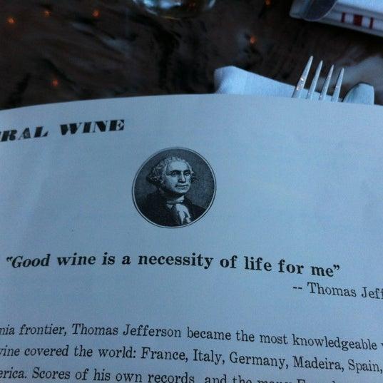 Das Foto wurde bei The Federal Food Drink & Provisions von Gina am 3/1/2012 aufgenommen