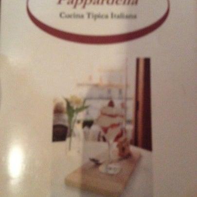 Das Foto wurde bei Pappardella von Luis R. am 8/8/2012 aufgenommen