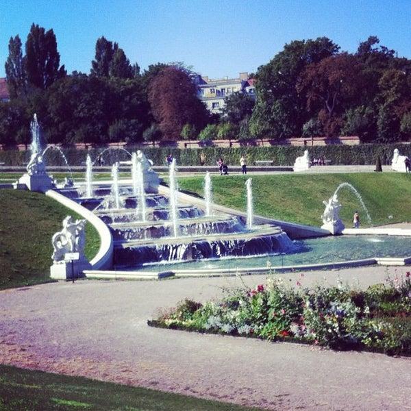 9/9/2012 tarihinde Seregaziyaretçi tarafından Oberes Belvedere'de çekilen fotoğraf
