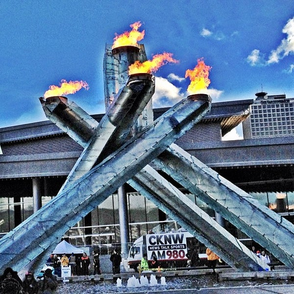 Vancouver Harbour: Vancouver 2010 Olympic Cauldron