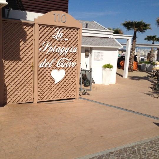 5/11/2012에 Stefano S.님이 La Spiaggia Del Cuore 110에서 찍은 사진
