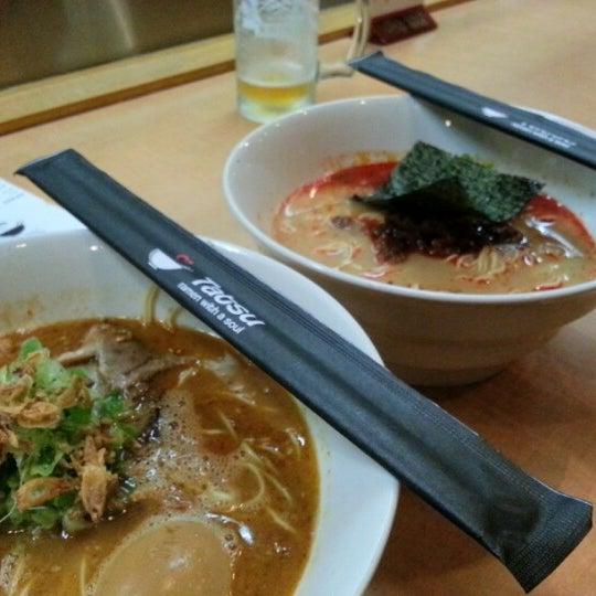 8/19/2012 tarihinde Jessica W.ziyaretçi tarafından Tatsu Ramen'de çekilen fotoğraf