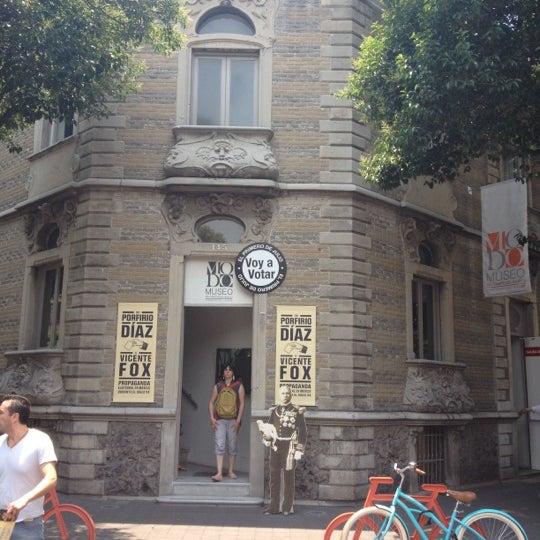 Das Foto wurde bei MODO Museo del Objeto del Objeto von Alejandro M. am 5/26/2012 aufgenommen