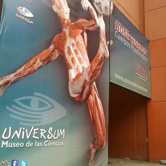 รูปภาพถ่ายที่ Universum, Museo de las Ciencias โดย Aldiux A. เมื่อ 8/22/2012