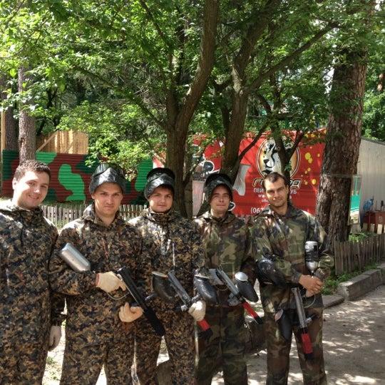 Снимок сделан в Пейнтбол «Гепард» пользователем Evgeniy S. 6/23/2012