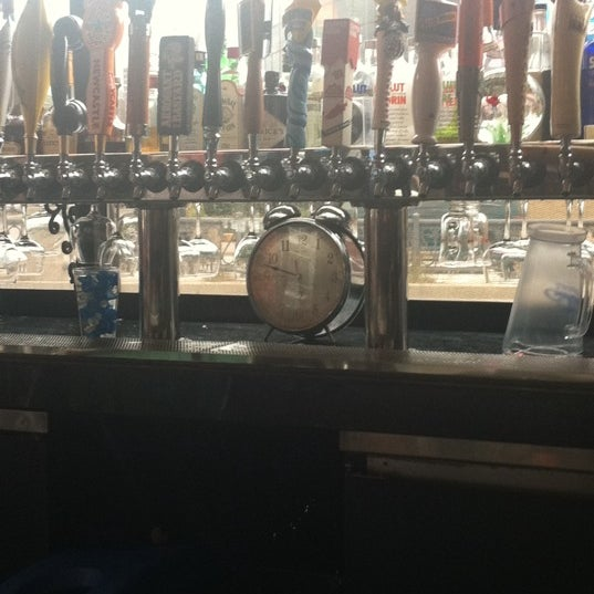 Half price appetizers, tap beer and domestic bottled beer is half off until the big clock at the bar says 6.