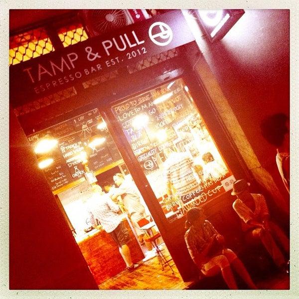 8/23/2012에 Szalczer P.님이 Tamp & Pull Espresso Bar에서 찍은 사진