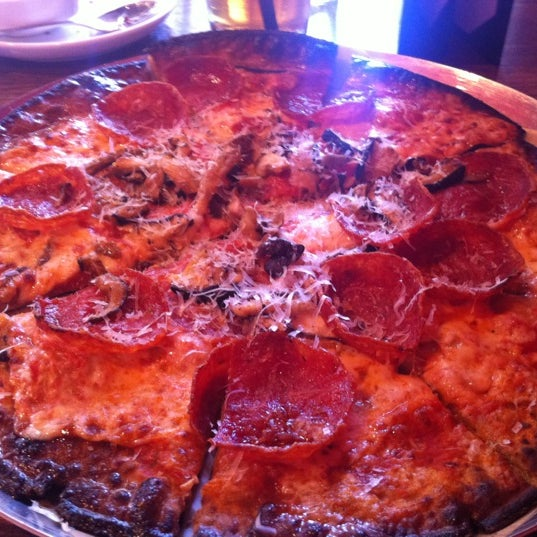 Photo taken at Lucky Pie Pizza & Tap House by Christie H. on 3/21/2012