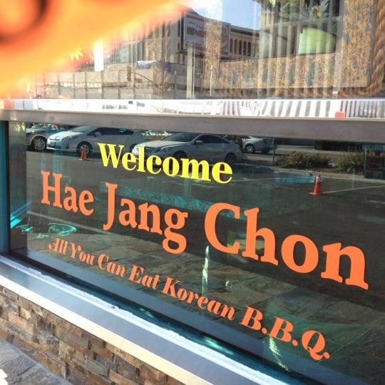 Foto scattata a Hae Jang Chon Korean BBQ Restaurant da Julie Y. il 7/4/2012