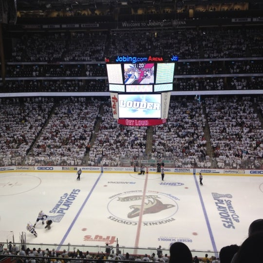 Photo prise au Gila River Arena par Cindy N. le4/30/2012