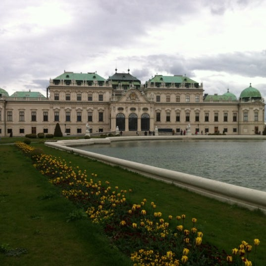 4/22/2012 tarihinde Ivana T.ziyaretçi tarafından Oberes Belvedere'de çekilen fotoğraf