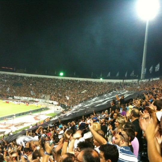 รูปภาพถ่ายที่ Toumba Stadium โดย n1komag เมื่อ 8/23/2012