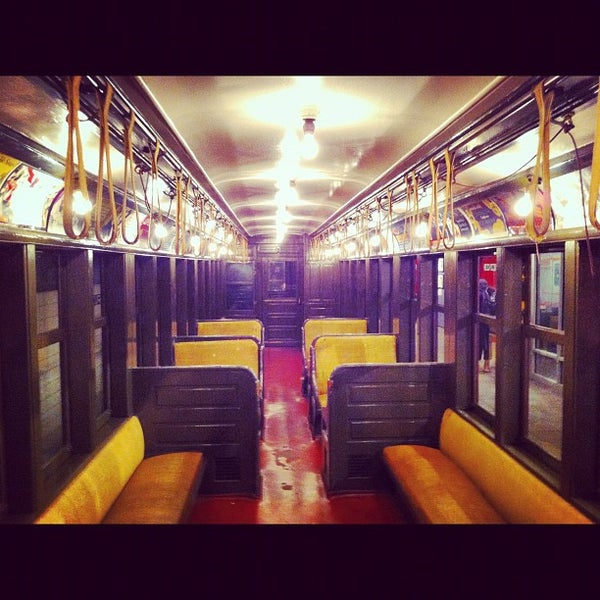 One of the coolest museums in NYC. It's in an old subway stop and they've got all the old subway cars and buses.