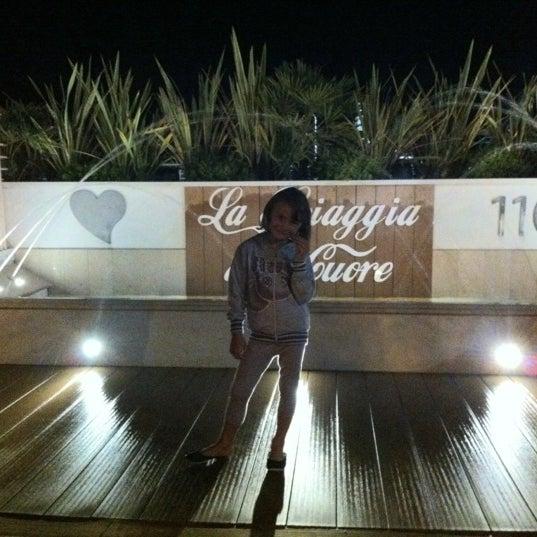 9/2/2012에 Manuela T.님이 La Spiaggia Del Cuore 110에서 찍은 사진