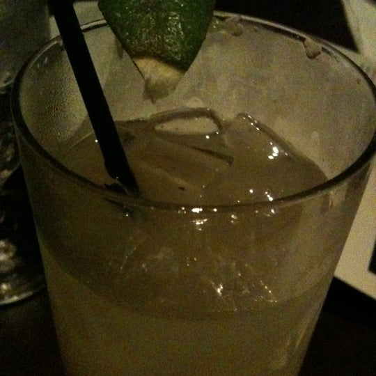 The non-alcoholic Ginger Lime soda is yummy. You can really taste the ginger!