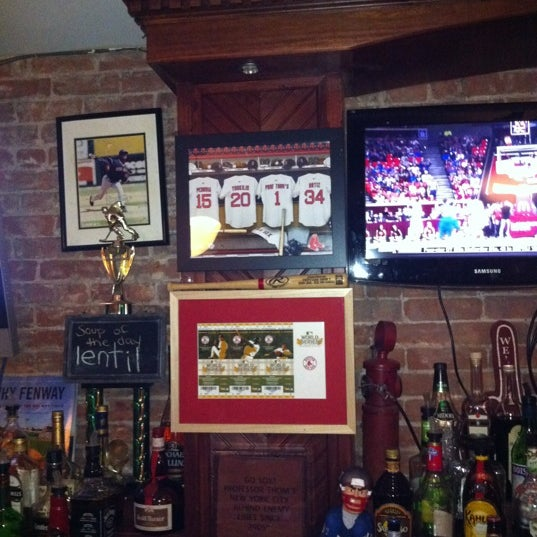 Wear Boston colors, grab a house ale, and cheer on the Sox!