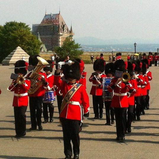 Photo prise au Citadelle de Québec par Sergio Antonio S. le8/5/2012