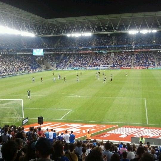 Foto diambil di RCDE Stadium oleh Eva P. pada 8/25/2012
