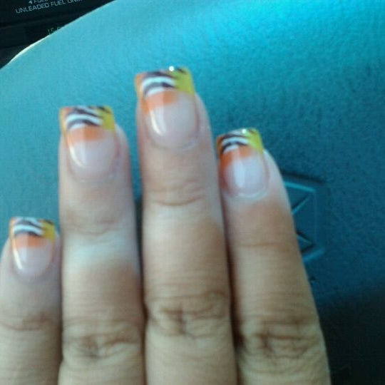 Photo taken at Savvy Nails by sally M. on 5/30/2012
