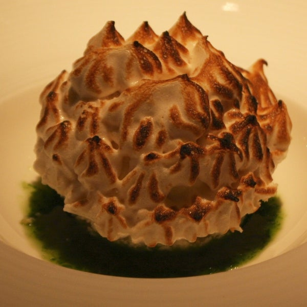 Know about our Facebook promo? Enjoy a complimentary Baked Alaska w/ ice cream, thai basil syrup & brown sugar meringue. 1 per table only please, available in the dining room til Sept. 14th, 2012.